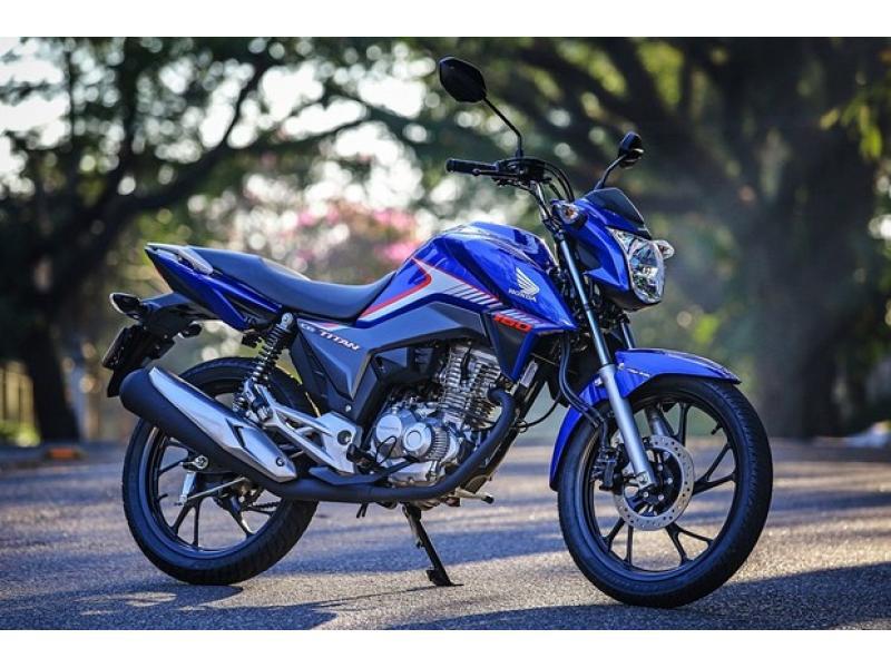 Honda CG 160 2018 ganha freio combinado de série